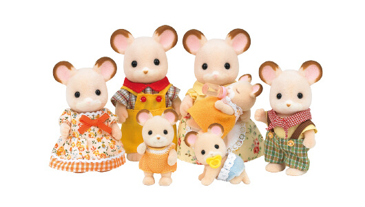 Acorn Mouse Family