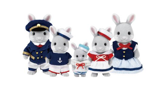 Sea Breeze Rabbit Family