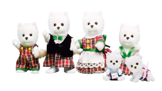 West Highland Terrier Family