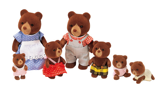 Teardrop Bear Family