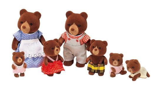 Teardrop Bear Family