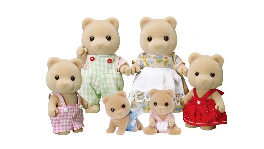 Honey Bear Family