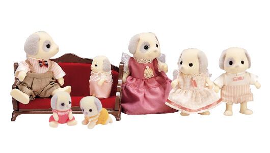 Ivory Dog Family