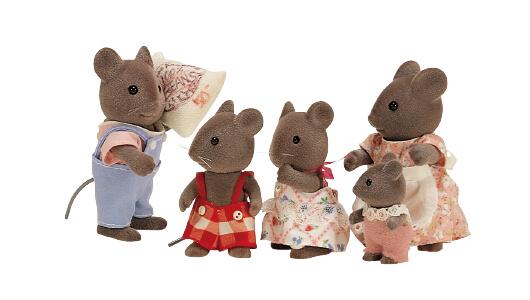 Gray Mice Family