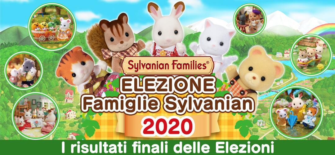 ELEZIONE Famiglie Sylvanian