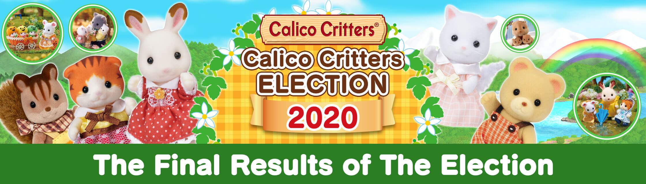 Calico Critters 2020 Election!
