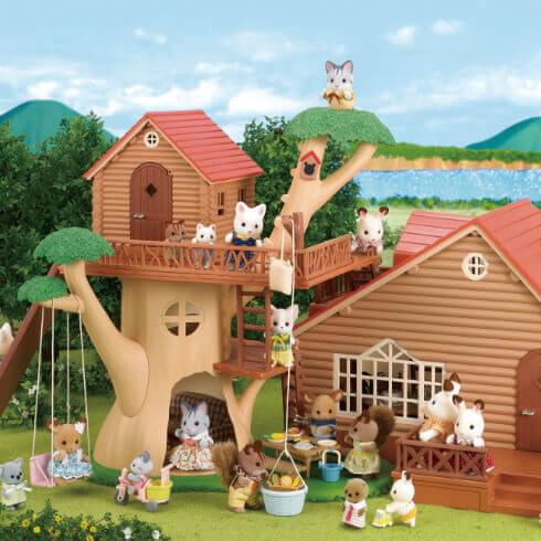 にぎやかツリーハウス+おとまりファミリーコテージ