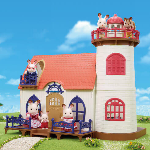 星空の見える灯台のお家