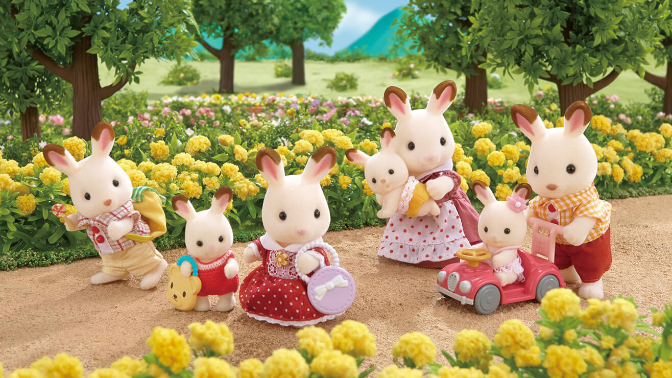 Sylvanian Families Spring!