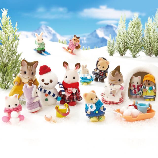 Calico Critters Winter