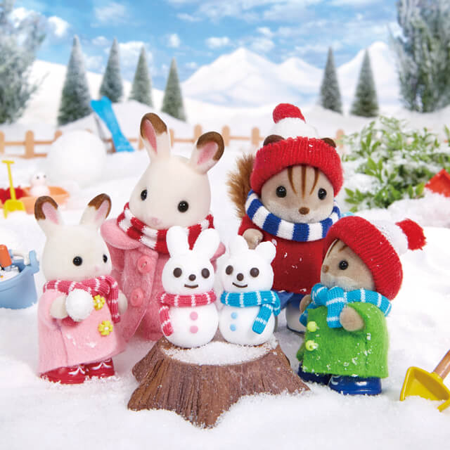 Sylvanian Families Winter!