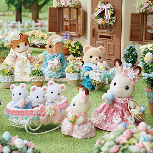Sylvanian Families Easter!