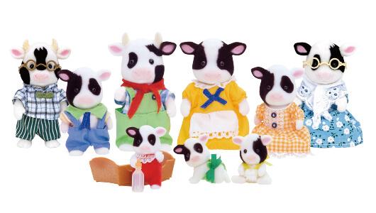 Friesian Cow Family