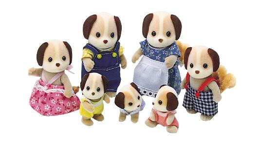 Beagle Dog Family