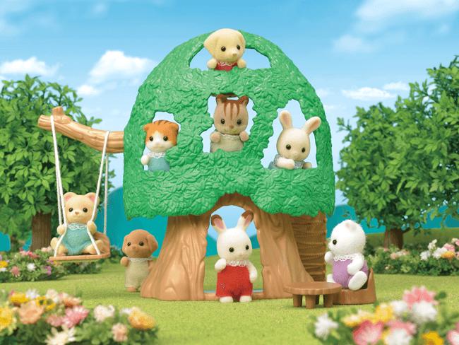 Casa da Árvore para bebés 1