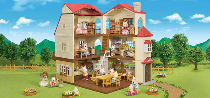 Residential House  Sylvanian Families