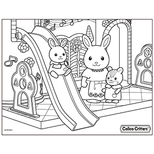 Coloring Calico Critters