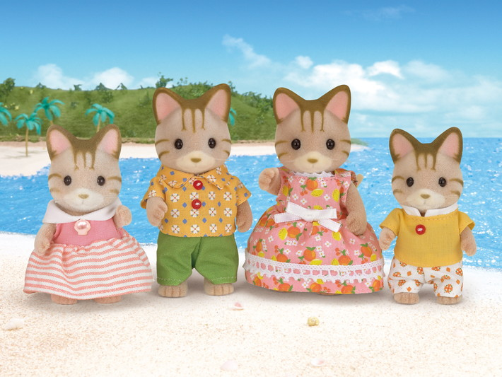Sandy Cat Family - 4