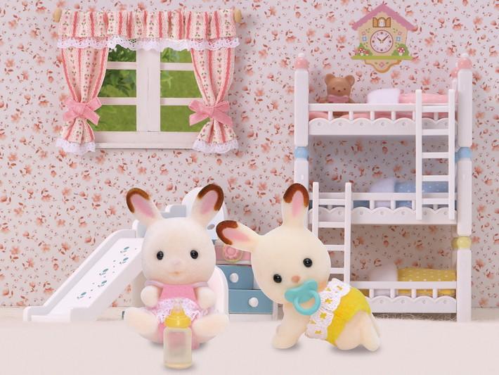 Hopscotch Rabbit Twins - 5
