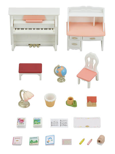 Piano & Desk Set - 5
