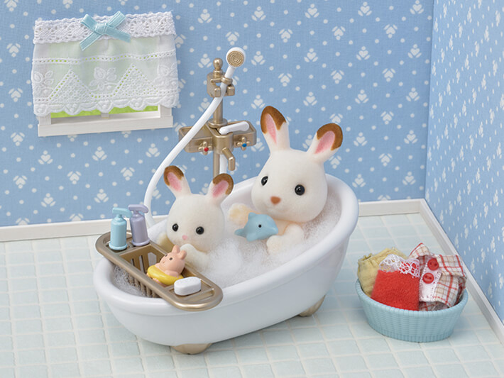 Country Bathroom Set Calico Critters