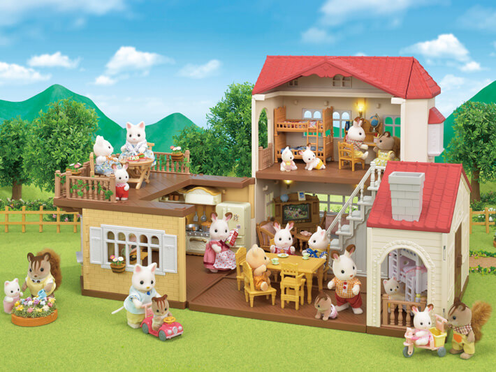 Red Roof Country Home Calico Critters