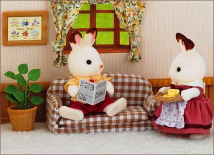 朱古力兔爸爸與家具套裝 - 3