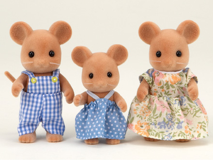 Mouse Family Set - 3