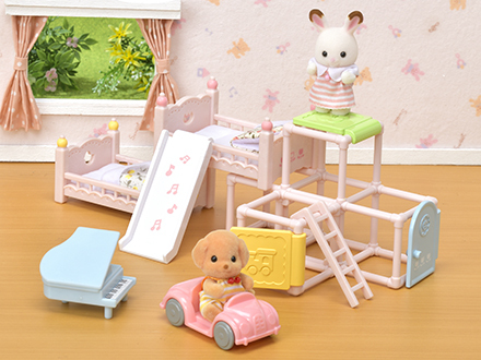 아기 놀이방 가구 세트 - 4