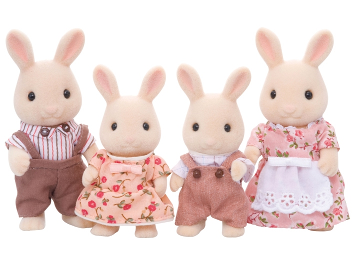 Sweetpea Rabbit Family - 4