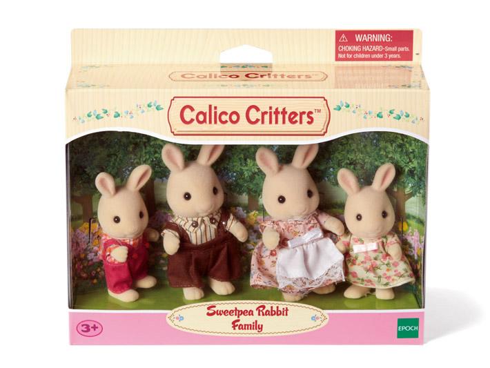 Sweetpea Rabbit Family - 4