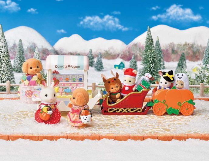 Baby Sleigh Ride Set - 5