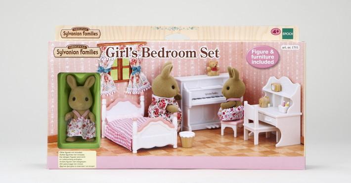 Meiteņu guļamistabas komlekts - 7