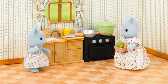 Conjunto de Cozinha c/ Irmã Gato - 7
