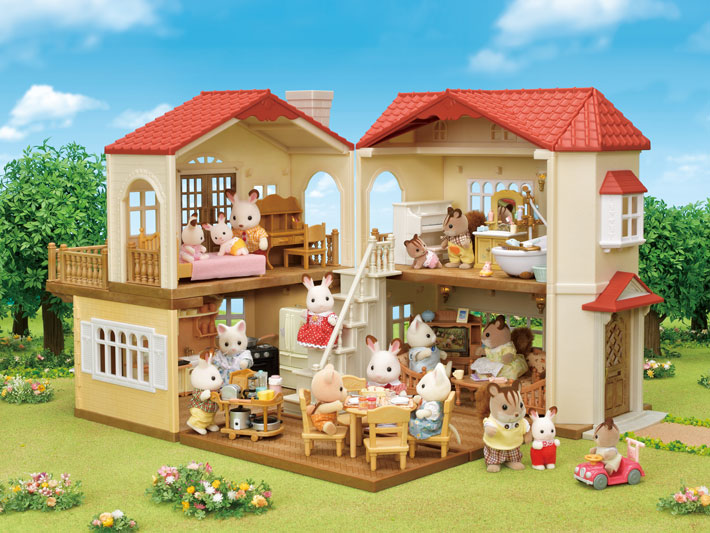 Red Roof Country Home Gift Set - 12