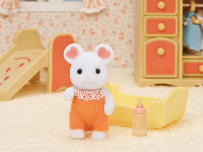 Marshmallow Mouse Baby - 4