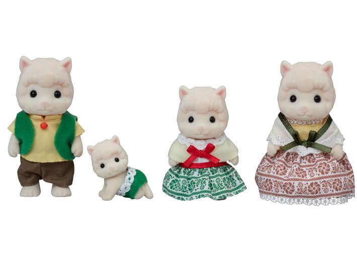 Woolly Alpaca Family - 4