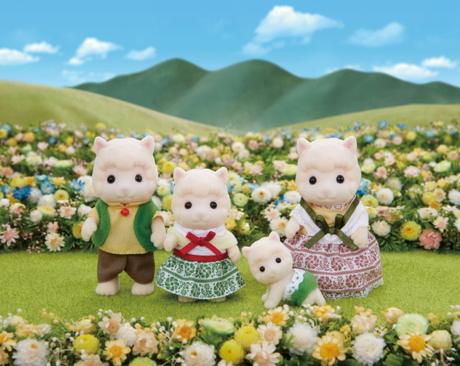 Woolly Alpaca Family - 5