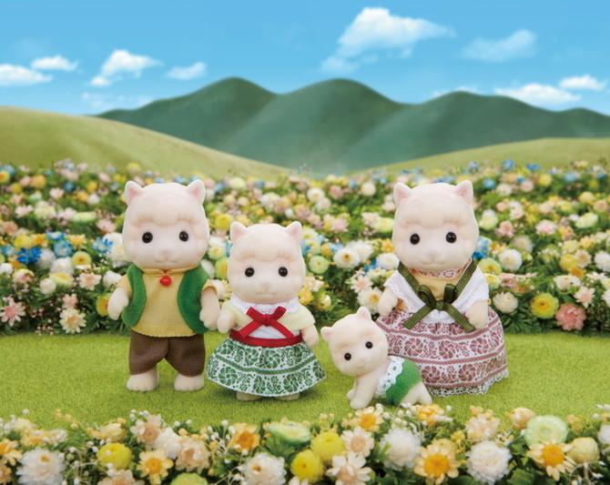 Família das Alpacas - 5