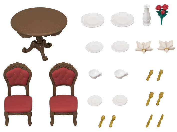 Chic Dining Table Set - 8