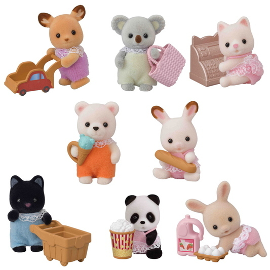Sammelfiguren Serie 2 Baby Shopping - 4