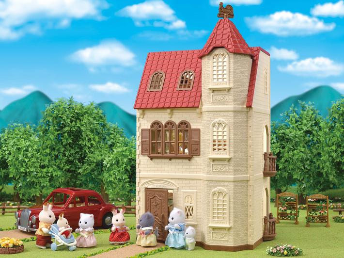 森林家族紅頂塔樓 - 14