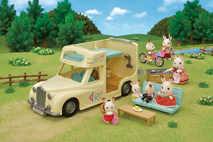 森林家族露營車 - 9