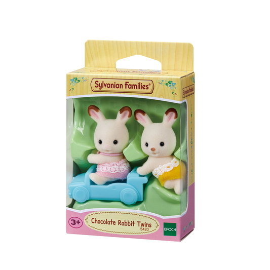 Chocolate Rabbit Twins - 4