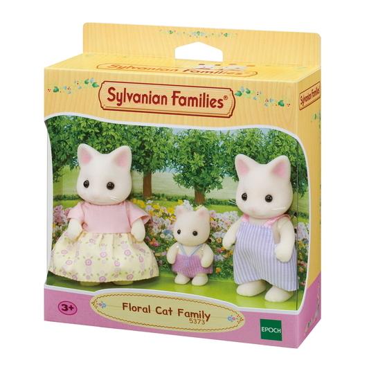 Familia Gato Floral - 6