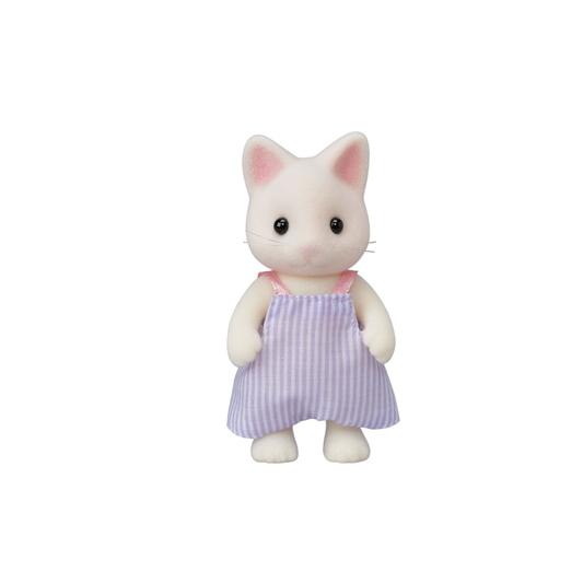 La famille chat blanc - 6