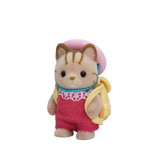 Baby gestreepte kat - 4