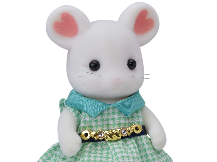 Town Girl Series  - Marshmallow Mouse - 6