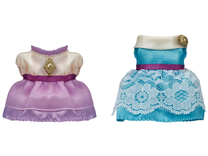 Dress Up Set ( Lavender & Aqua ) - 4