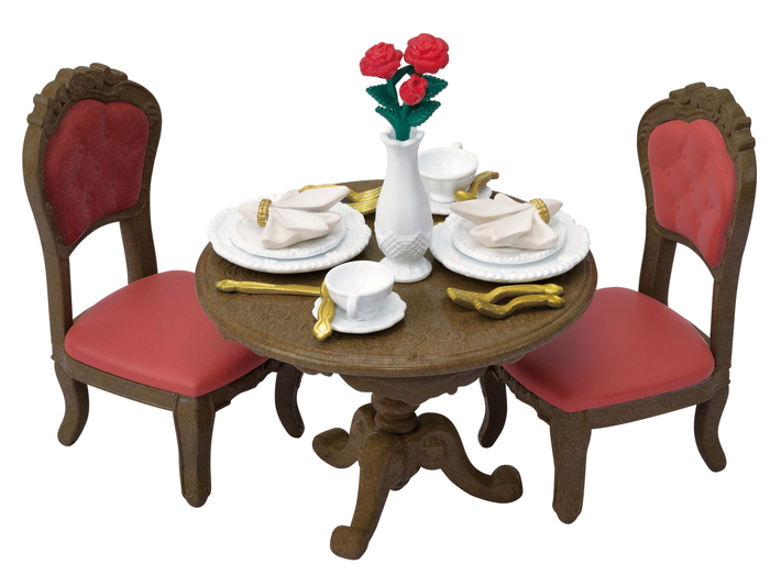 Chic Dining Table Set - 7